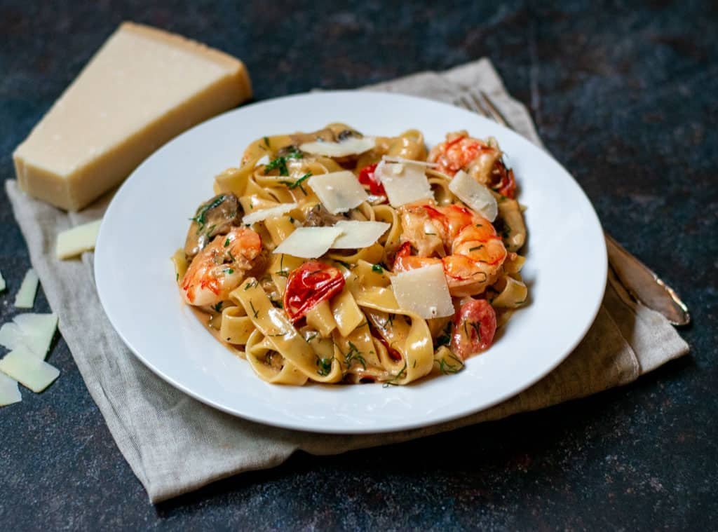 creamy prawn pasta recipe