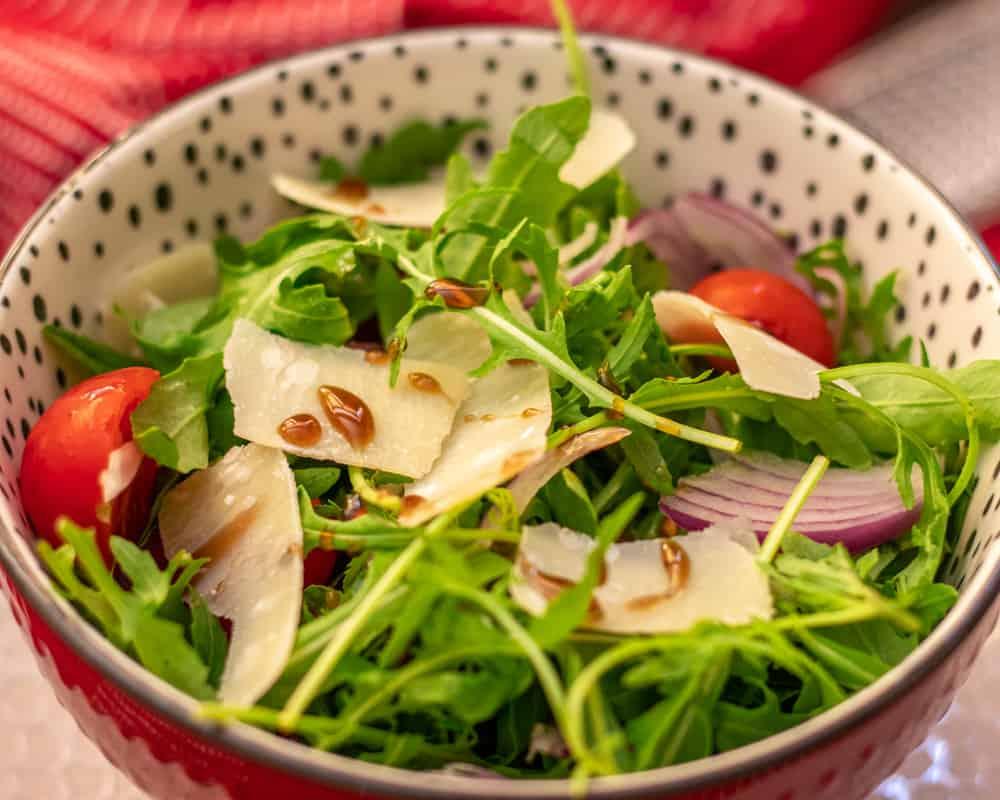rocket and parmesan salad