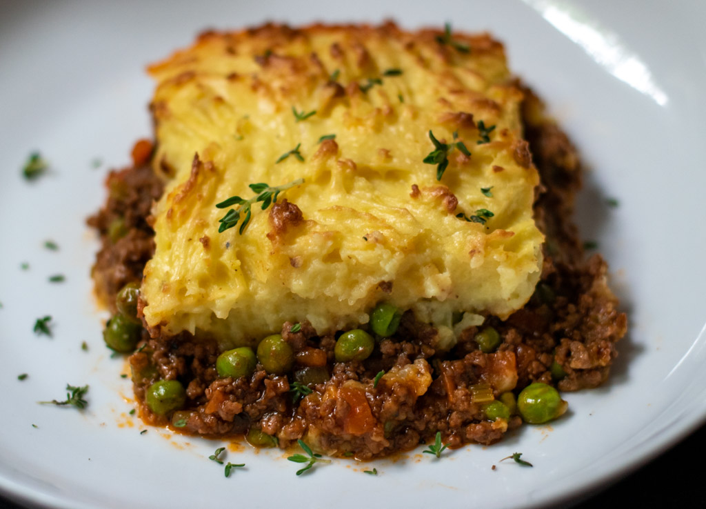 traditional cottage pie